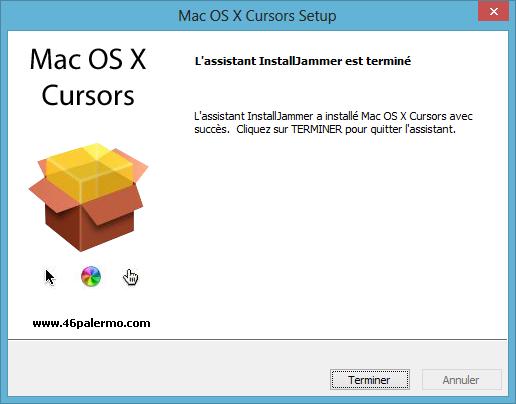 Tuto curseur OS X on Windows 3