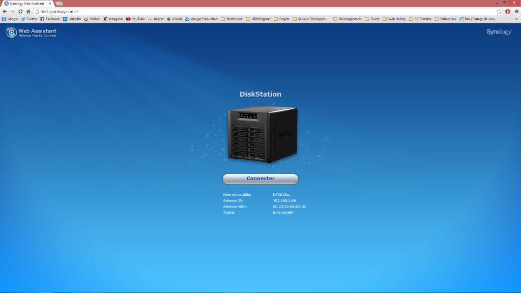 Find Synology