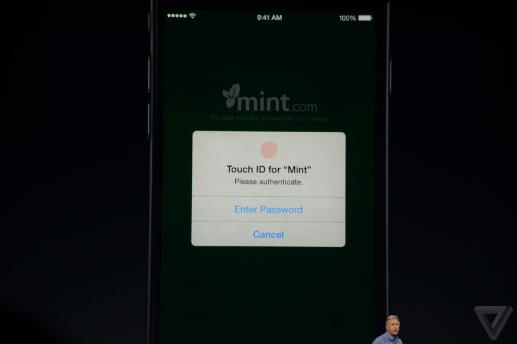 Touch ID apps