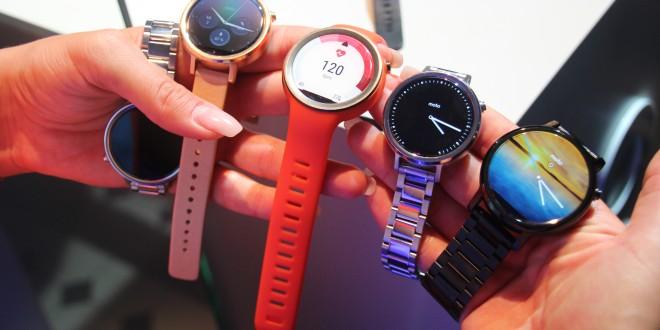 Prise en main de la Motorola Moto 360 (2nd Gen) : 3 montres pour tous les combler !