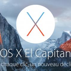 OS X El Capitan Bannière